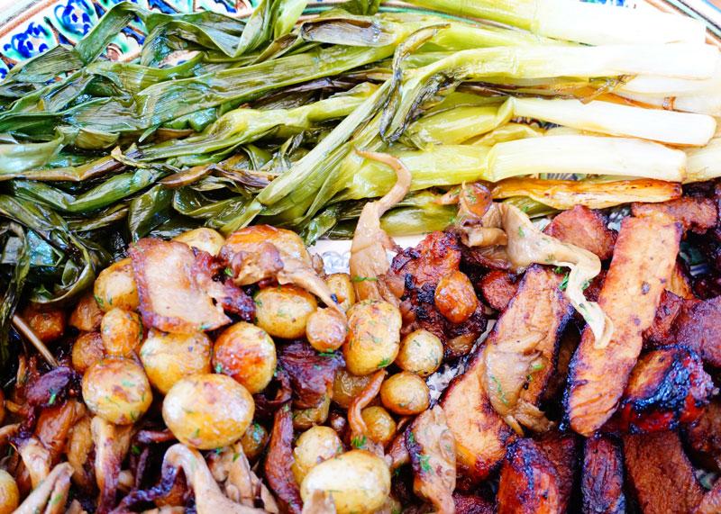 Рецепт свиного стейка на гриле фото