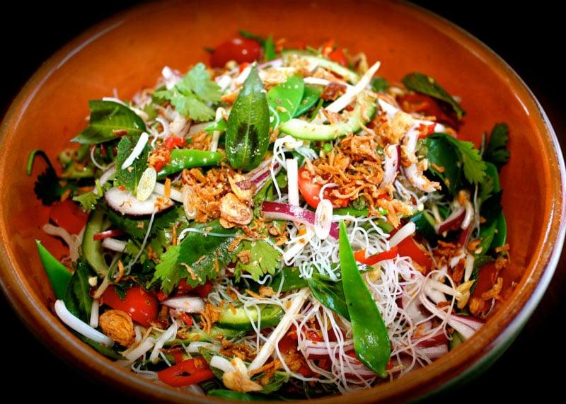 Вьетнамский овощной салат рецепт фото
