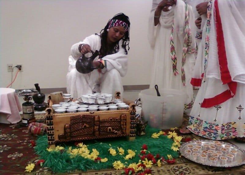 Приготовление кофе Эфиопия фото