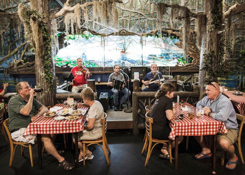 Еда в Луизиане фото