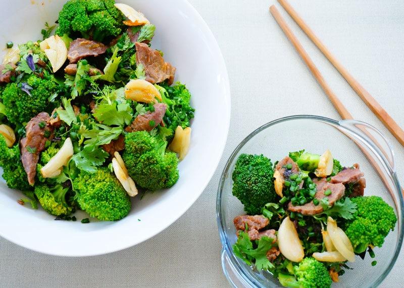 Рецепт баранины с брокколи фото