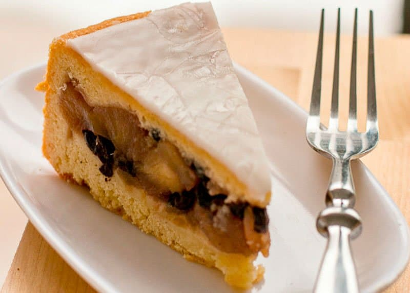 Французский яблочный пирог рецепт фото