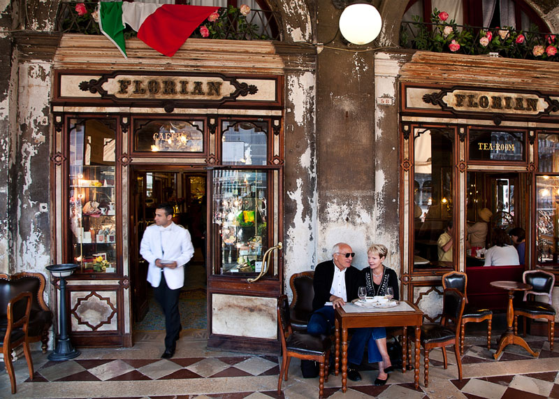 Кафе Флориан Венеция кофе