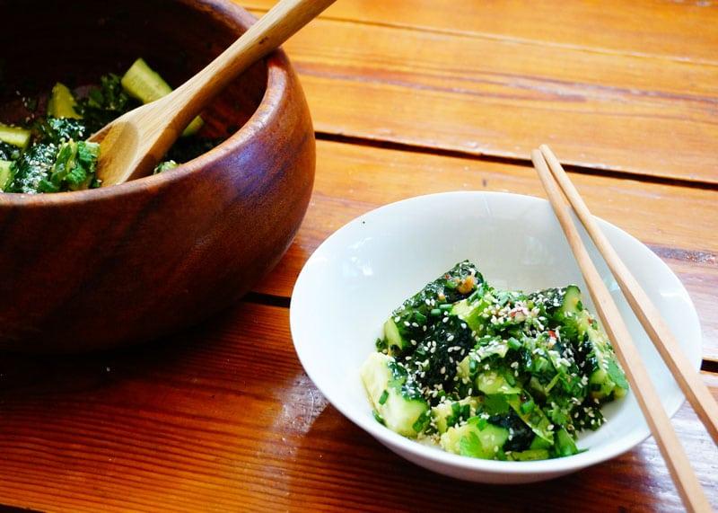 Рецепт китайского салата из огурцов фото