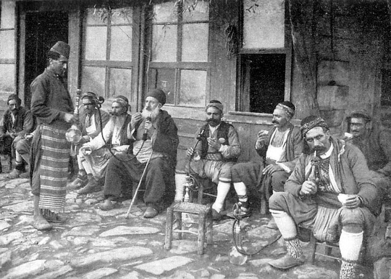 Первые дома кофе Турция фото