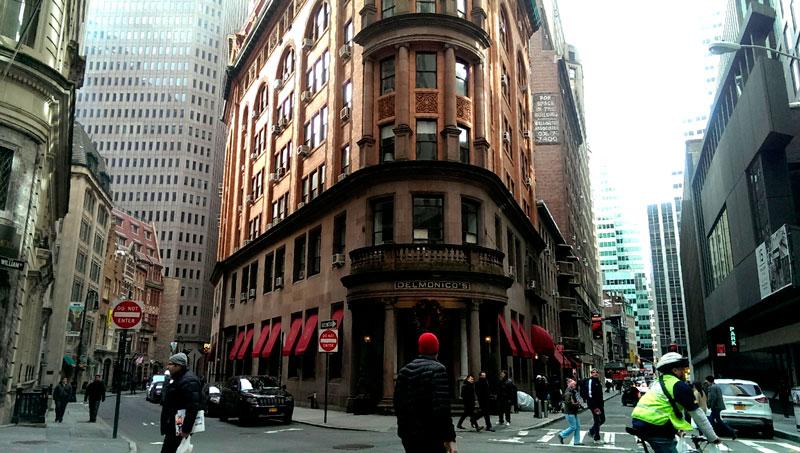 Ресторан Дельмонико Нью-Йорк фото