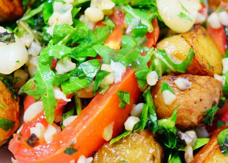 Салат из булгура приготовление фото