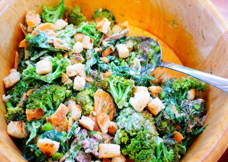 Салат из горошка рецепт фото