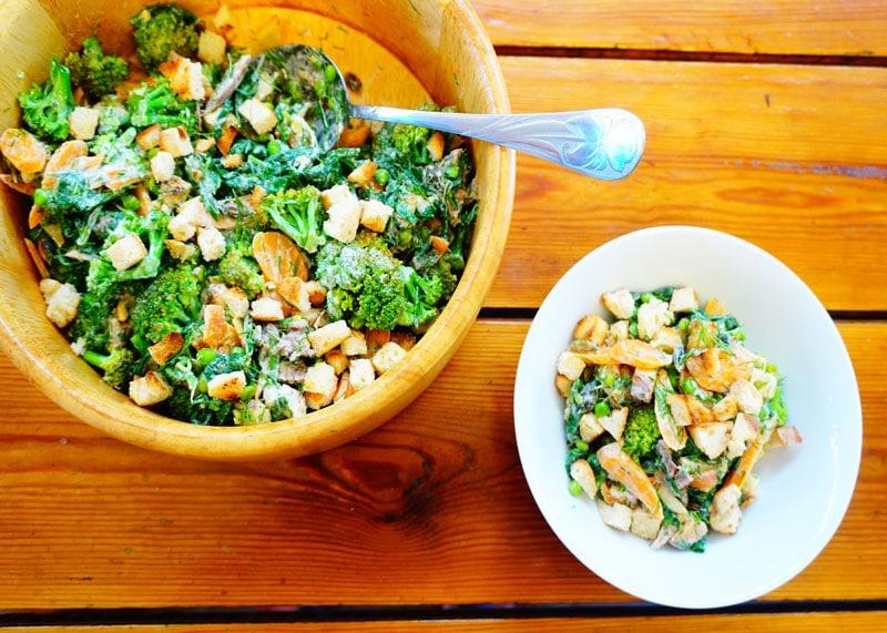 Салат из горошка приготовление фото