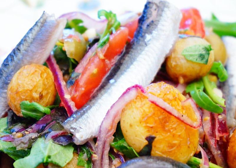 Рецепт салата из картофеля и помидоров фото
