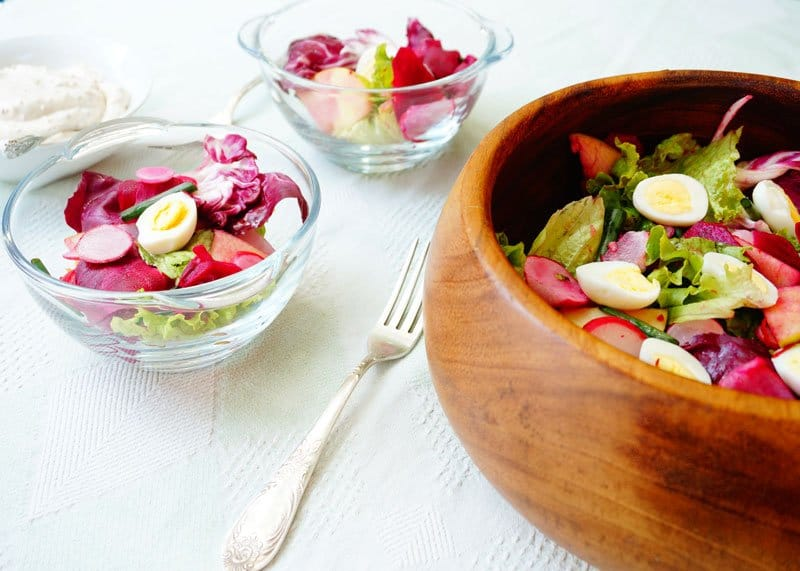 Салат из маринованной свеклы рецепт фото