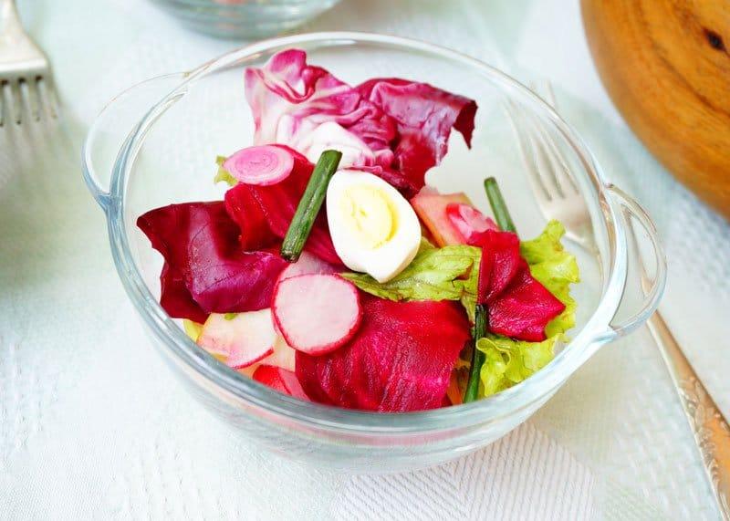 Салат из свеклы фото