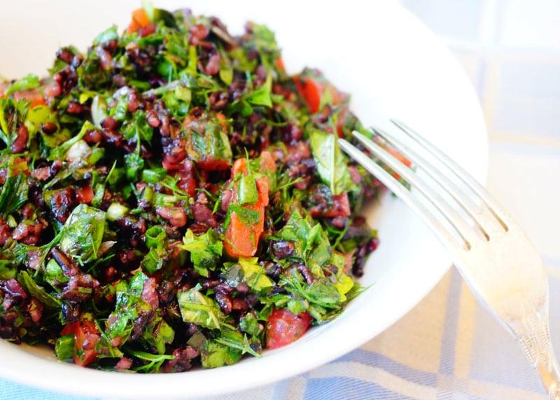 Рецепт салата с диким рисом фото