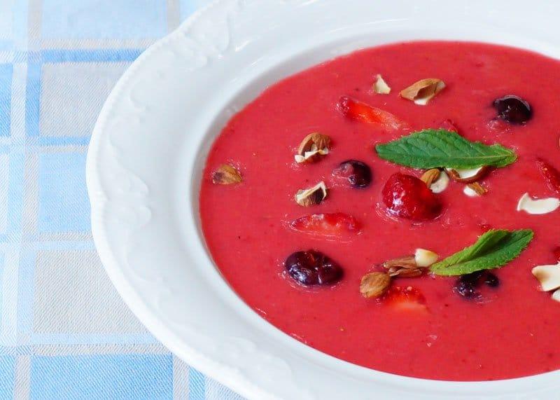 Суп из клубники рецепт фото