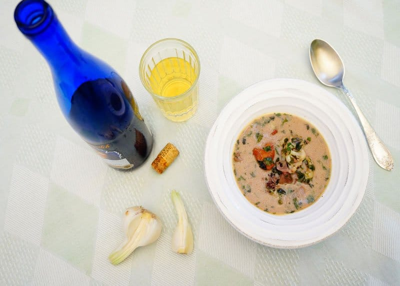 Суп с диким рисом рецепт фото