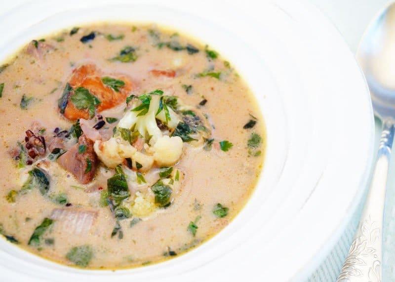 Рецепт супа с диким рисом фото