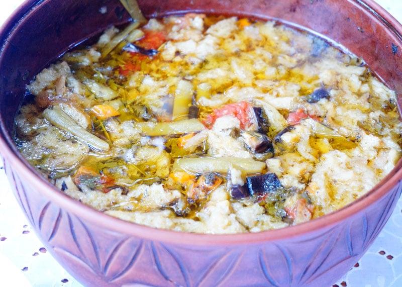 Рецепт супа со стручковой фасолью фото