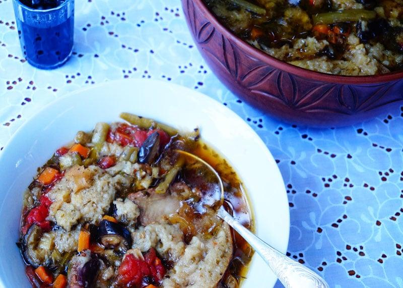 Приготовление супа с фасолью фото