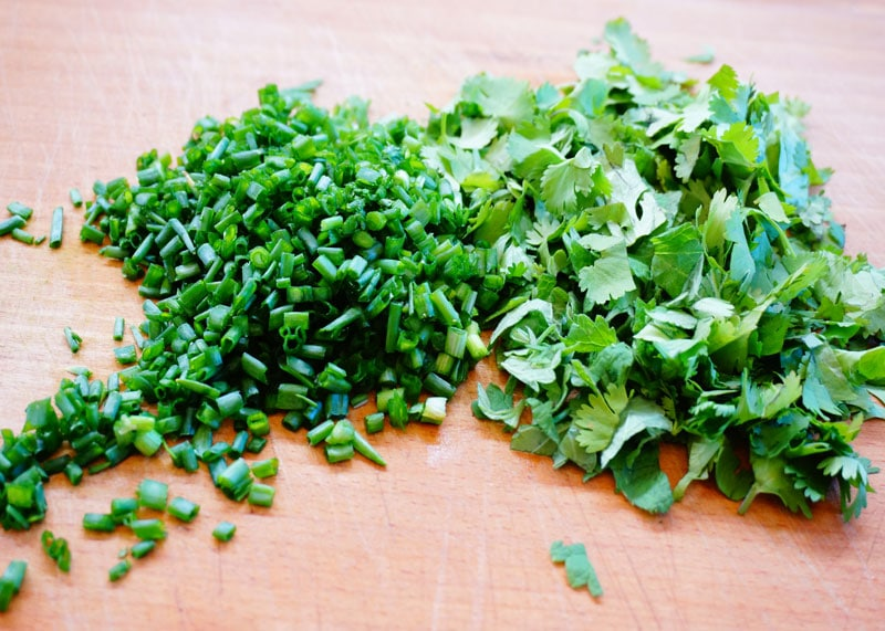 Зелень для салата фото