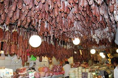 Колбасы Калабрии фото