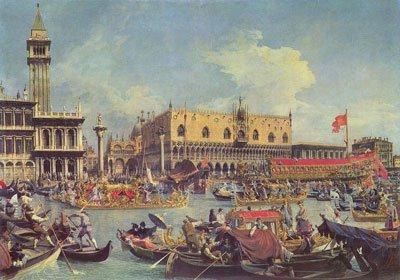 Торговые пути Венеции фото