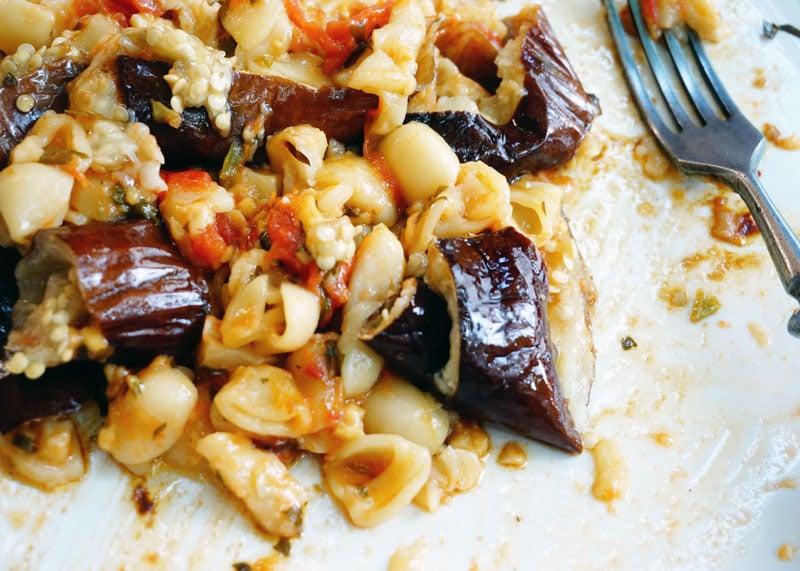 Баклажаны с помидорами рецепт фото