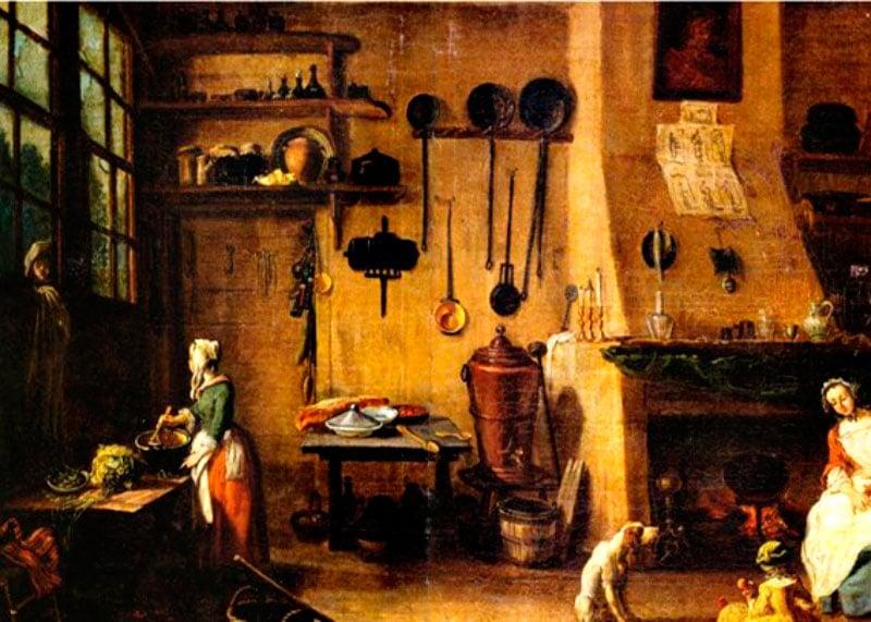 Буржуазная кухня Франции фото