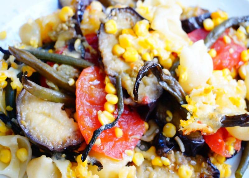 Рецепт овощного рагу с кукурузой фото
