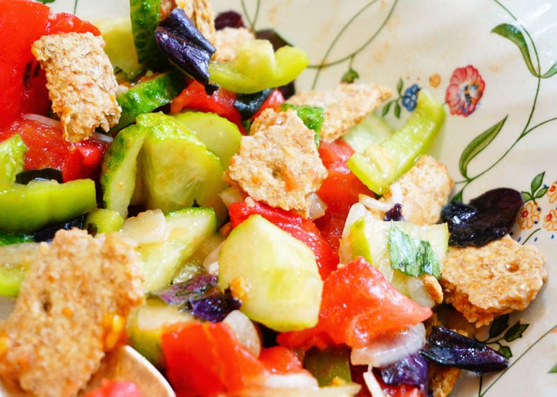 Овощной салат рецепт фото