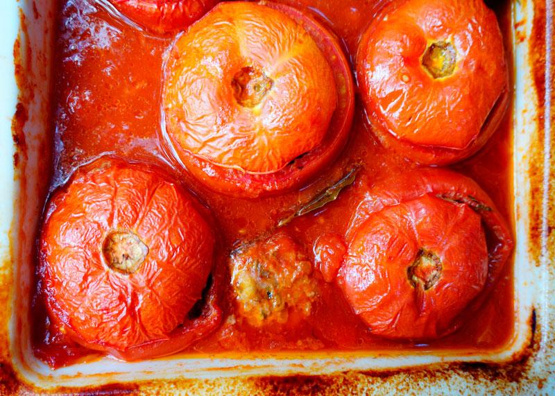 Рецепт помидоров со свининой фото