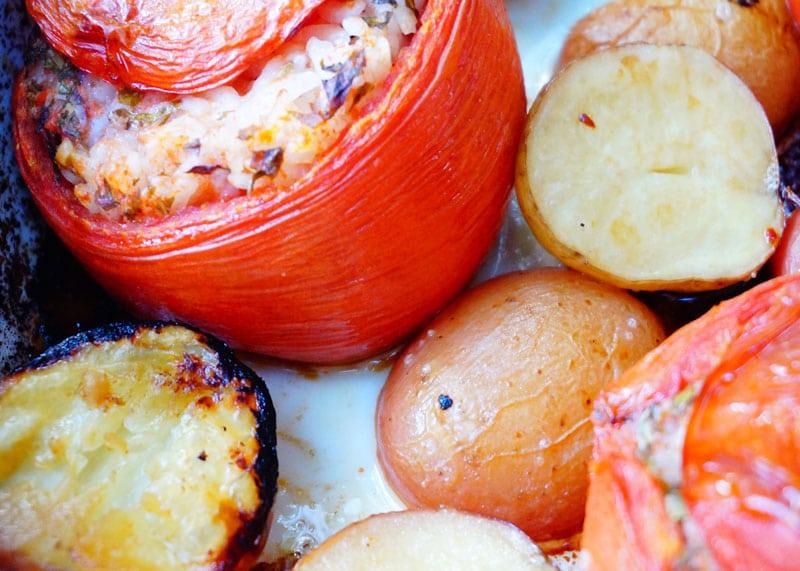 Рецепт помидоров с рисом фото