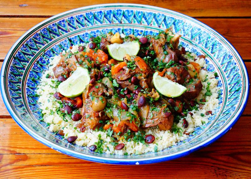 Рецепт таджина из баранины фото