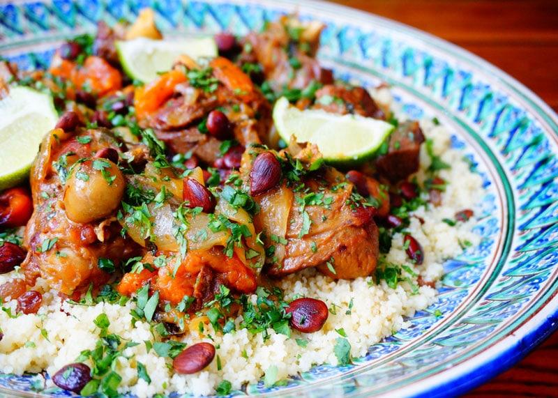 Таджин из баранины рецепт фото