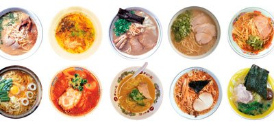 Виды супа Рамен фото