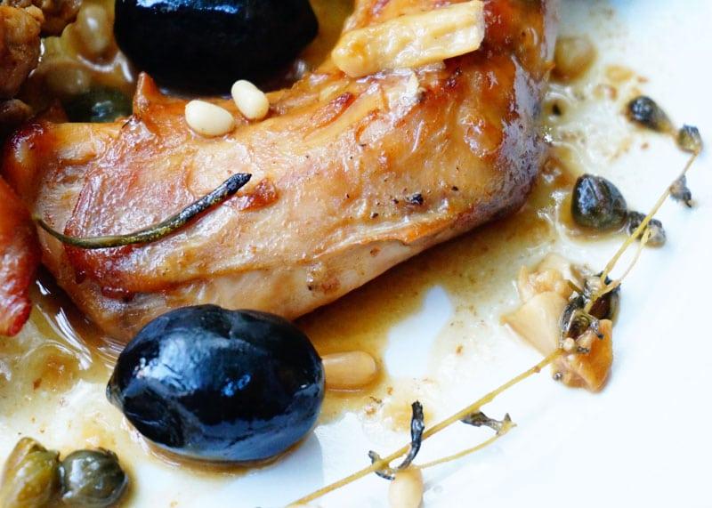 Рецепт кролика по-лигурийски фото