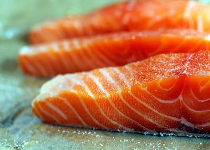 Рецепт лосося с кунжутом фото