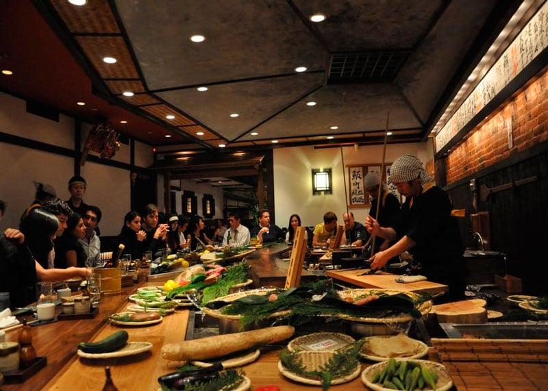Ресторан Япония фото