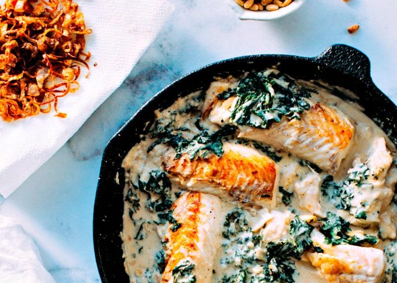 Рыба с тахини фото