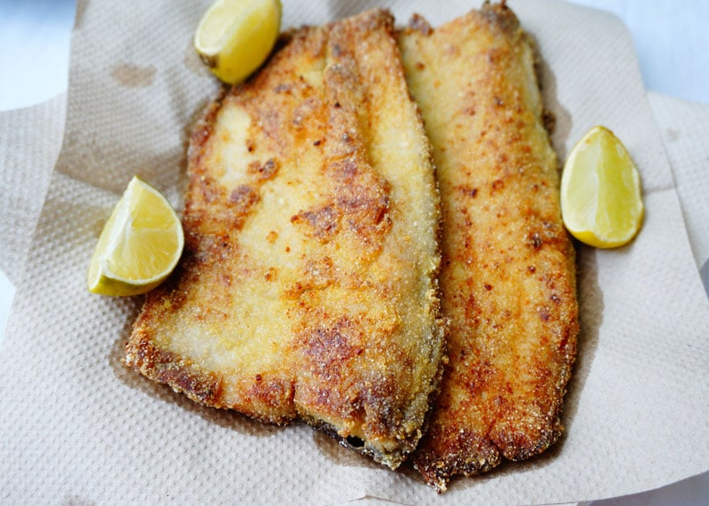 Рыба в кляре из кукурузной муки фото