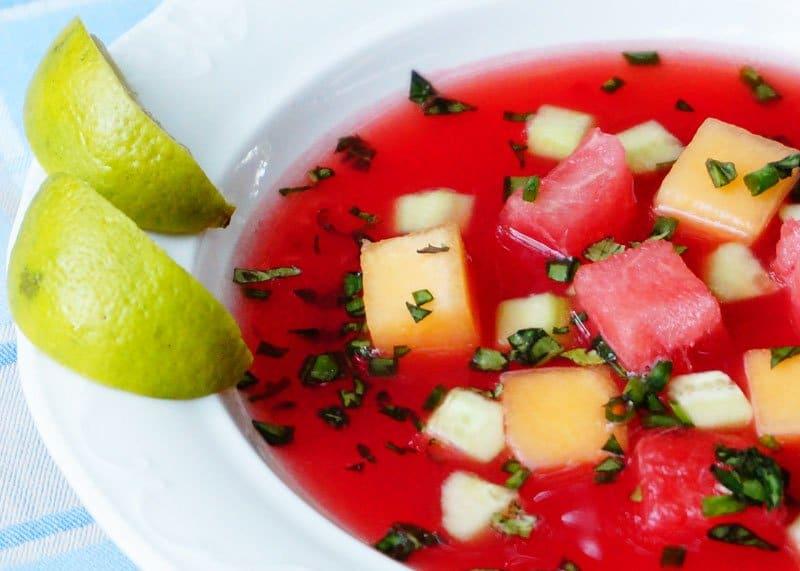 Суп из арбуза фото