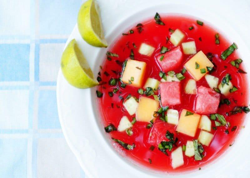 Рецепт супа из арбуза фото