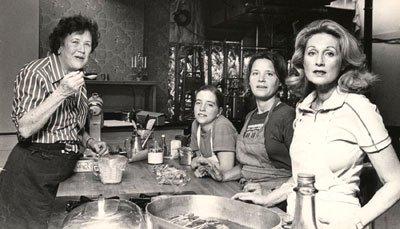 Джулия Чайлд 1979 год фото