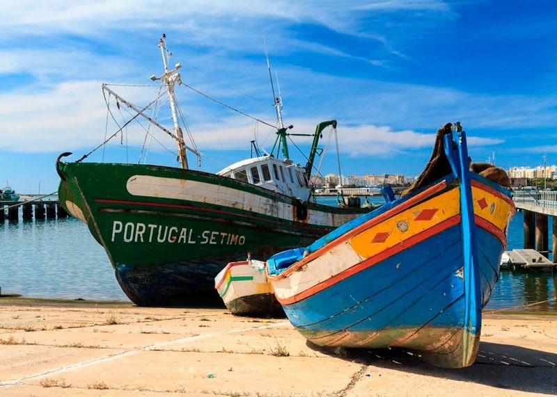 Португалия лодки фото