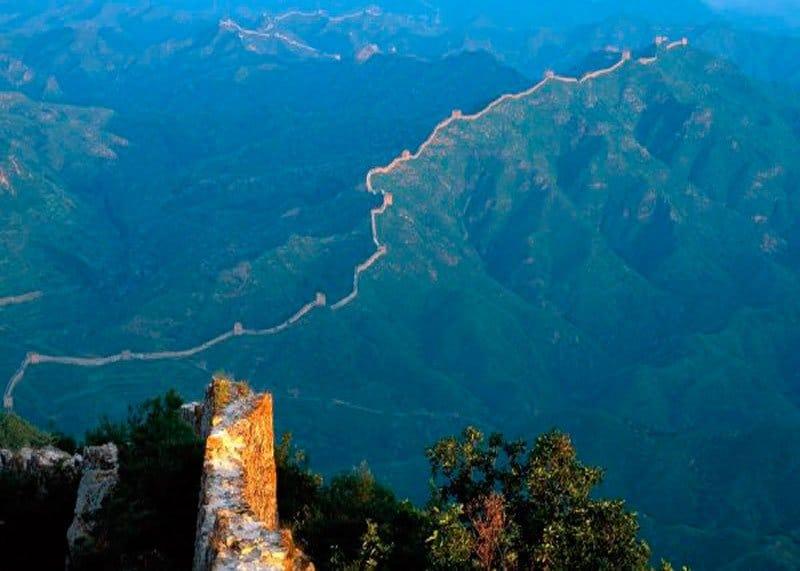 Китайская стена фото