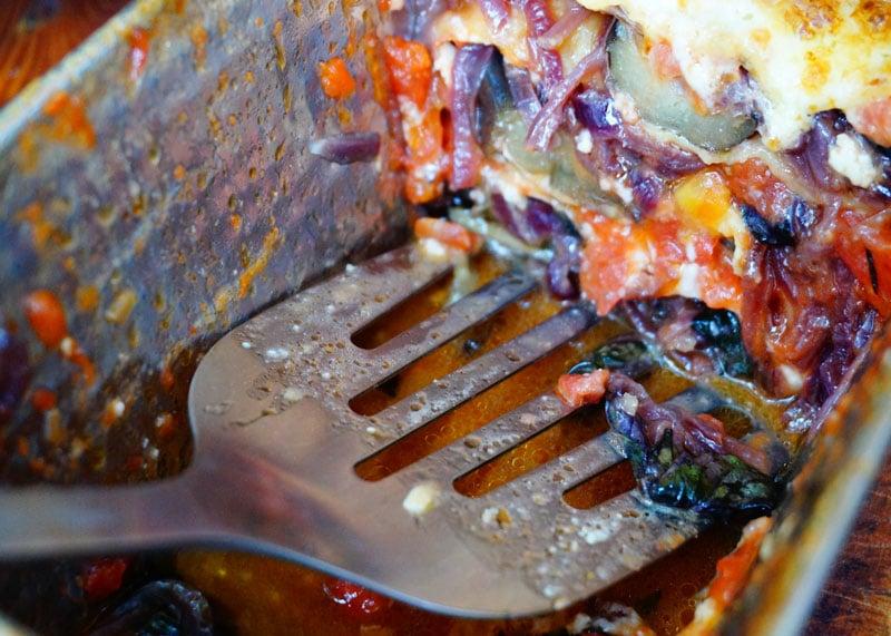 Приготовление лазаньи с баклажанами фото