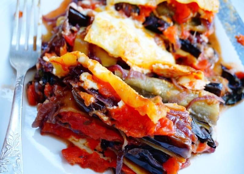 Рецепт лазаньи с баклажанами фото
