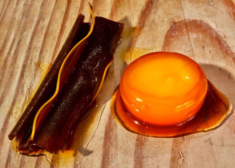 Желтки в соевом соусе фото