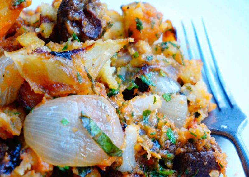 Рецепт салата из мятого картофеля фото