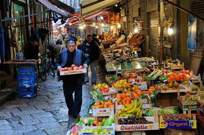 Еда в Палермо фото