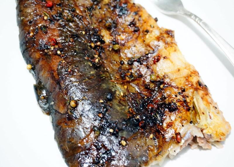 Рецепт рыбы с перцем фото
